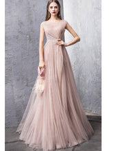 Load image into Gallery viewer, Elegant Sleeveless A-Line Skirt Gown