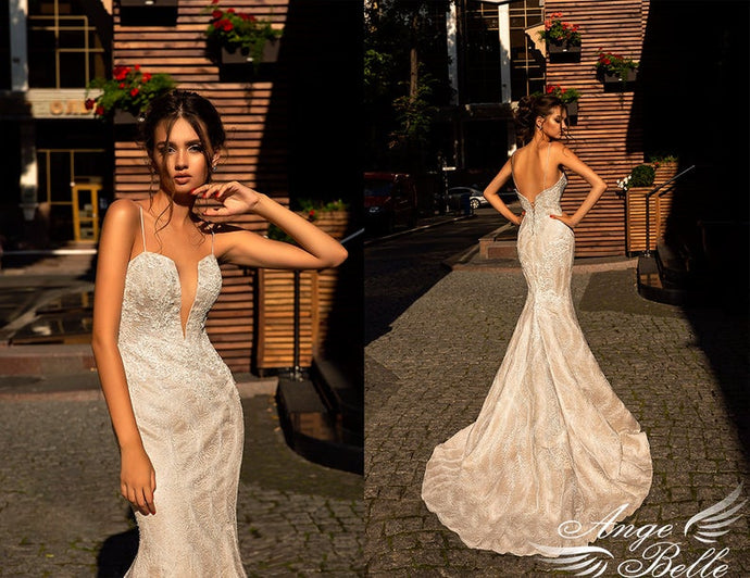 lace Wedding dress, open back dress        Update your settings