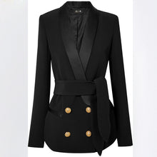 Load image into Gallery viewer, Tie Front  Pant Suit  jacket or pant and skirt