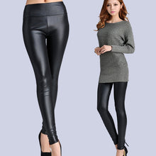 Load image into Gallery viewer, New Faux Leather Leggings