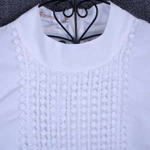 High Fashion Crochet Lace Blouse