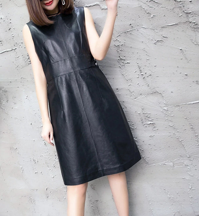 Genuine Leather Dress