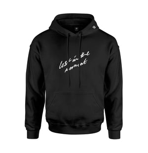 Lost in the Moment Hoodie | Black