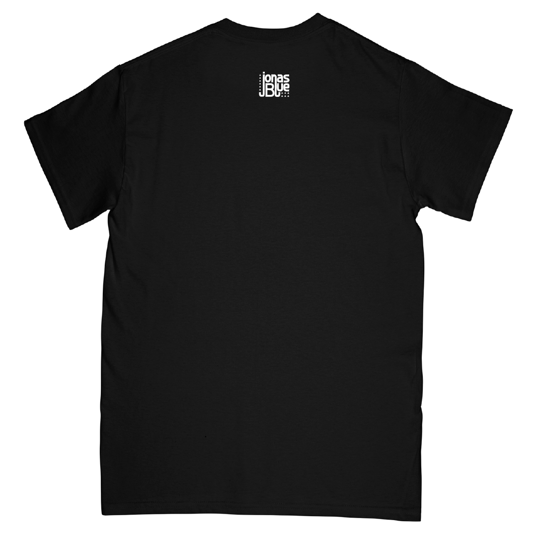 JB Merch Blue Tee | Black