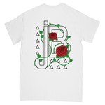 JB Merch Rose Tee | White