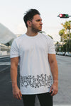White Electronic Nature | Men's T-Shirt