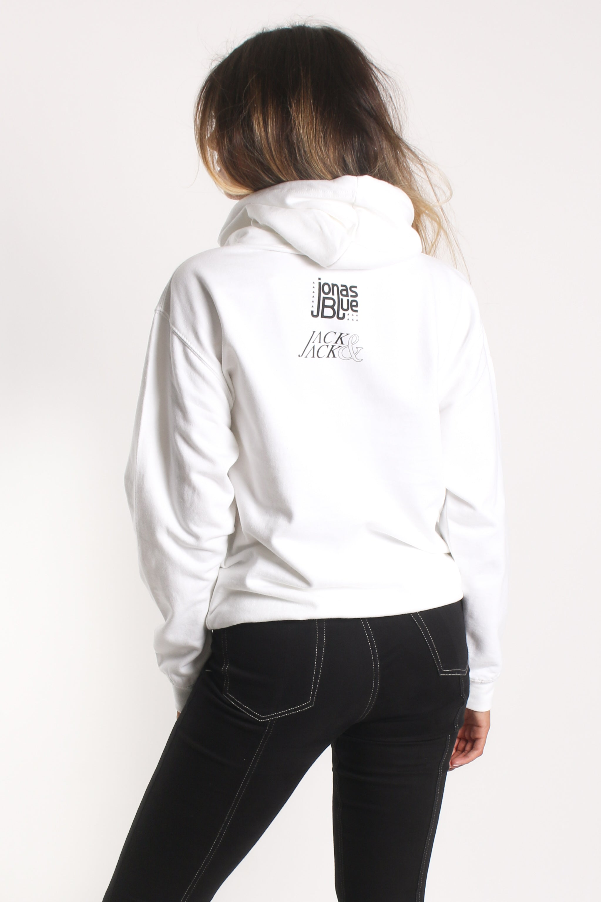 Rise Unisex Hoodie | White