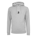 JB Merch Premium Heavy Hoodie | Heather Grey