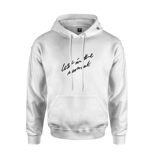 Lost in the Moment Hoodie | White