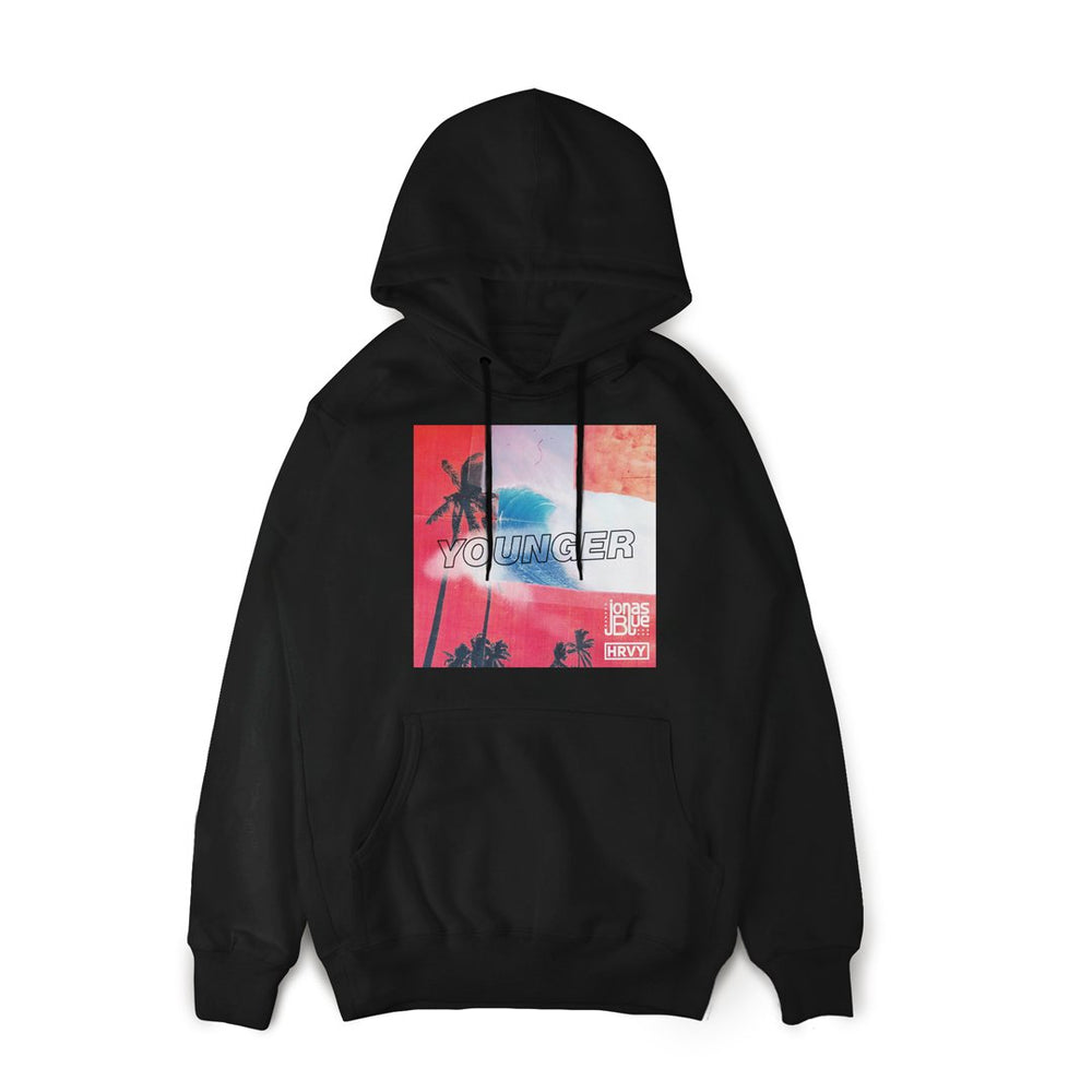 Younger Cover Hoodie Black