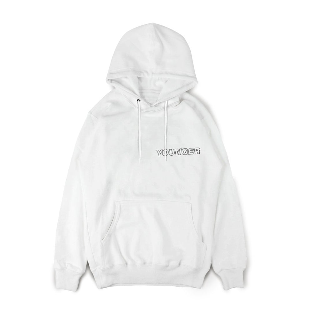 Younger Album Hoodie White
