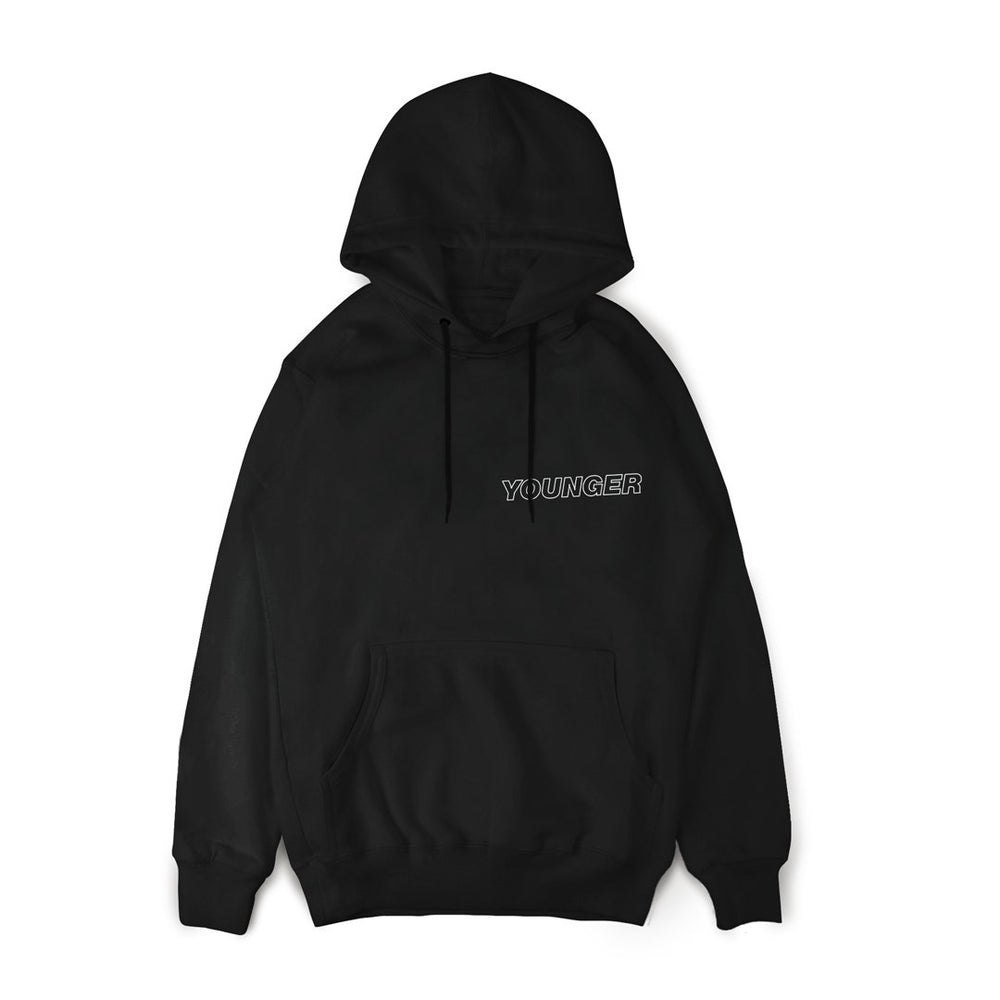 Younger Album Hoodie Black