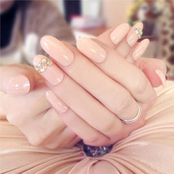 24pcs Fashion Bare French Nails Full Cover Best Shape Wears, Hair Removers, Leggings & Intimate