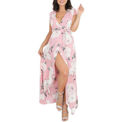 Women Bodycon Casual Bandage Holiday Evening Party Long Max Floral Print Dress Best Shape Wears, Hair Removers, Leggings & Intimate