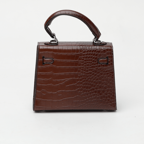 Rachel Brown Croc Crossbody Bag