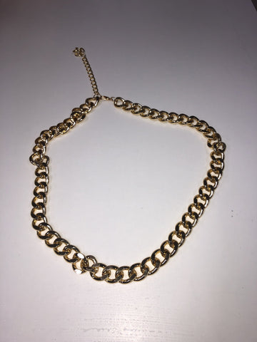 Josefin Gold Chain Belt
