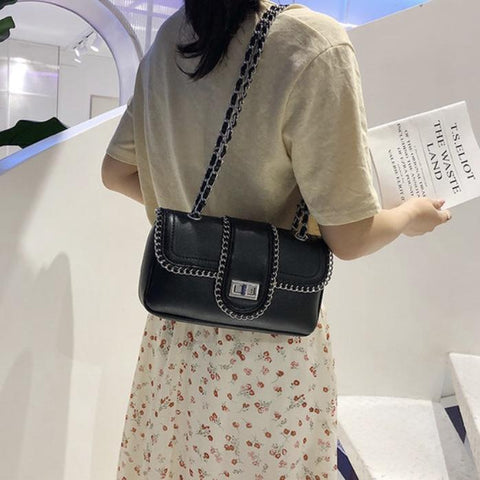 Olivia Black Crossbody