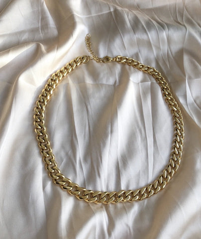 Elin 24kt Gold Chain Necklace