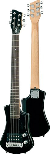 Hofner -  HCT Shorty Guitar - Black