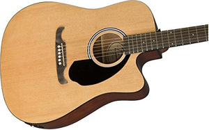 Fender - Dreadnought Electro-Acoustic Guitar With Cutaway (Natural)
