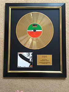 Led Zeppelin -  Limited Edition CD Gold Disc Record Album 1
