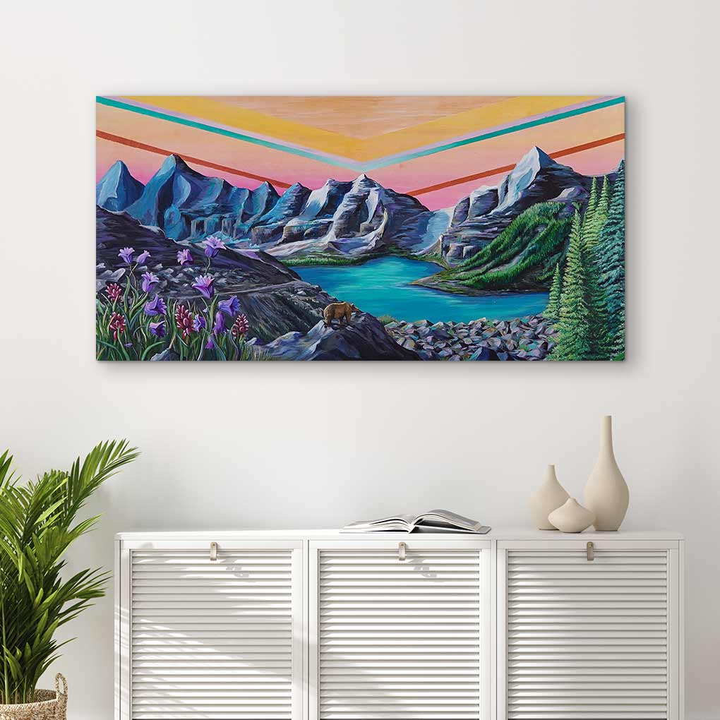 Above the Horizon - Canvas Print by Kelsey Van Raay | Art Bloom Canvas Art