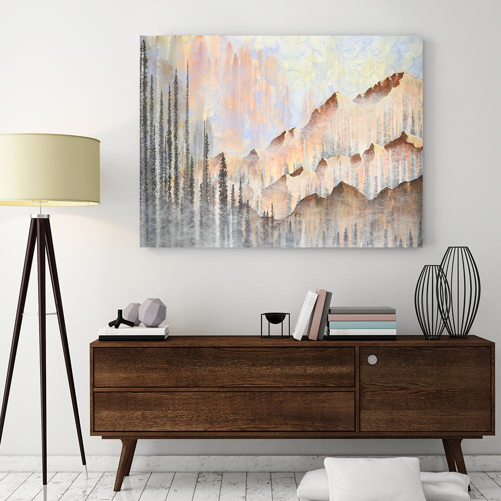 Afterburn Canvas Art by Emily Magone | Art Bloom