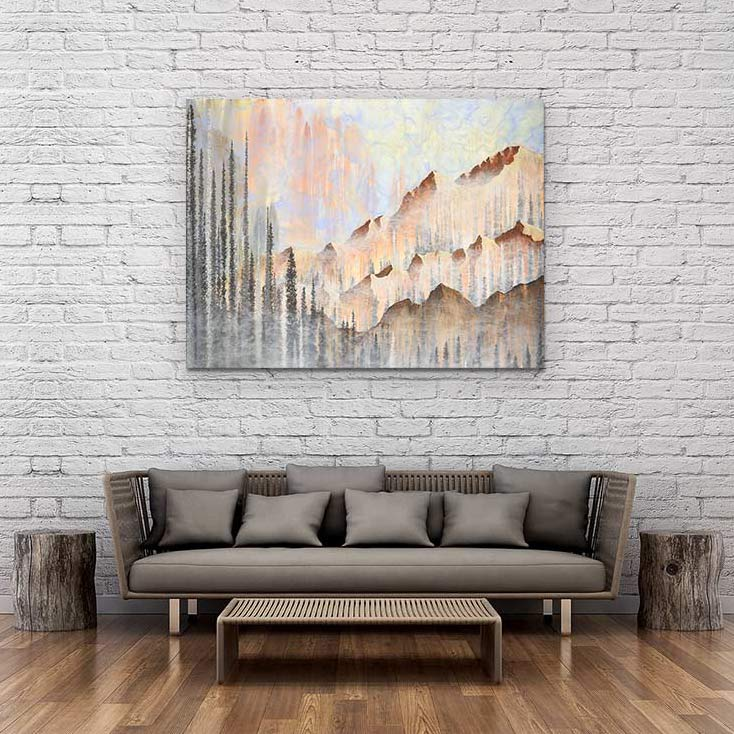Afterburn - Canvas Print by Emily Magone | Art Bloom Canvas Art