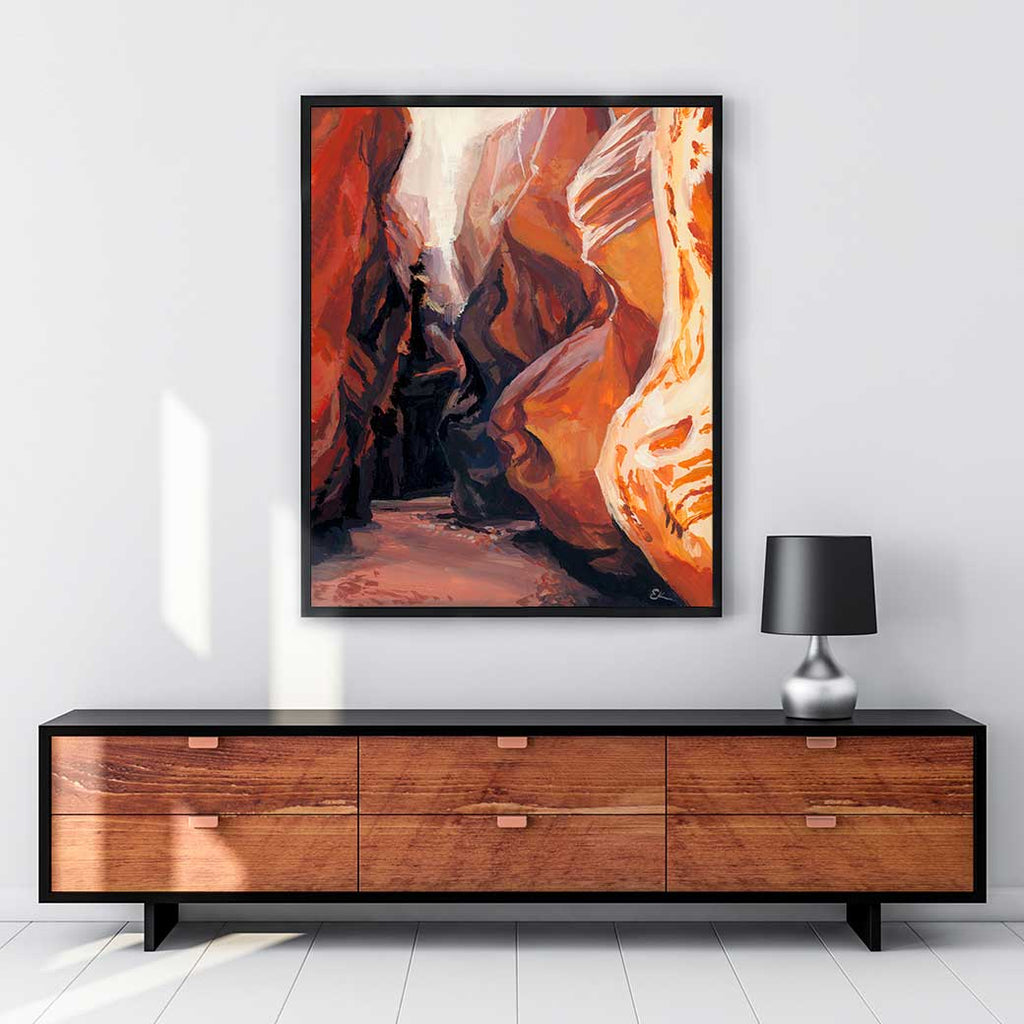 Antelope Canyon - Canvas Print by Emma Kelly | Art Bloom Canvas Art