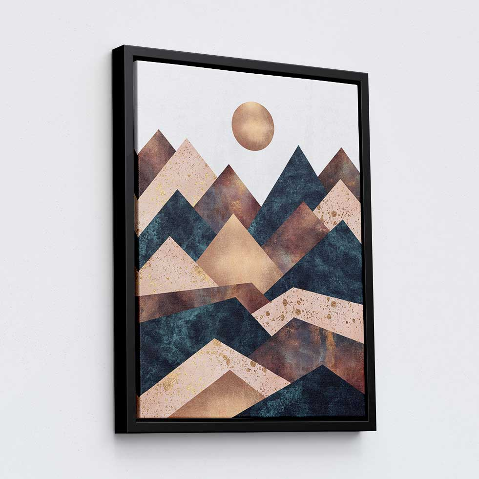 Autumn Peaks - Canvas Print by Elisabeth Fredriksson | Art Bloom Canvas Art