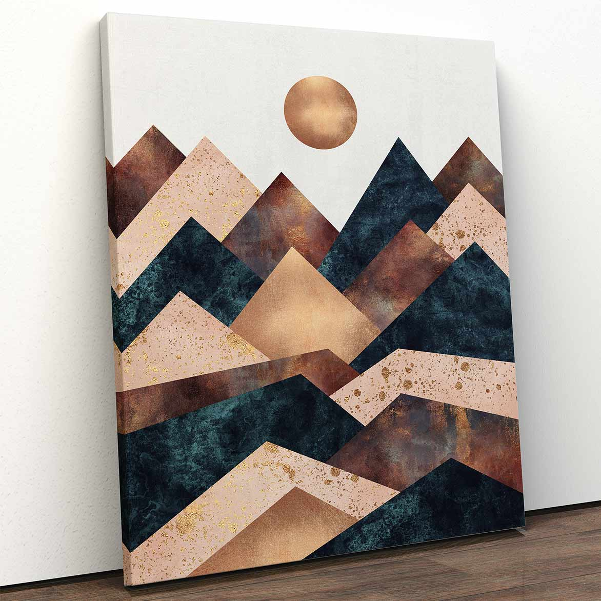 Autumn Peaks Canvas Art by Elisabeth Fredriksson | Art Bloom