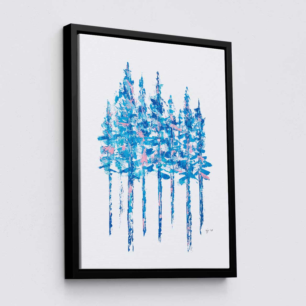 Blue Pines - Canvas Print by Mallery Jane | Art Bloom Canvas Art