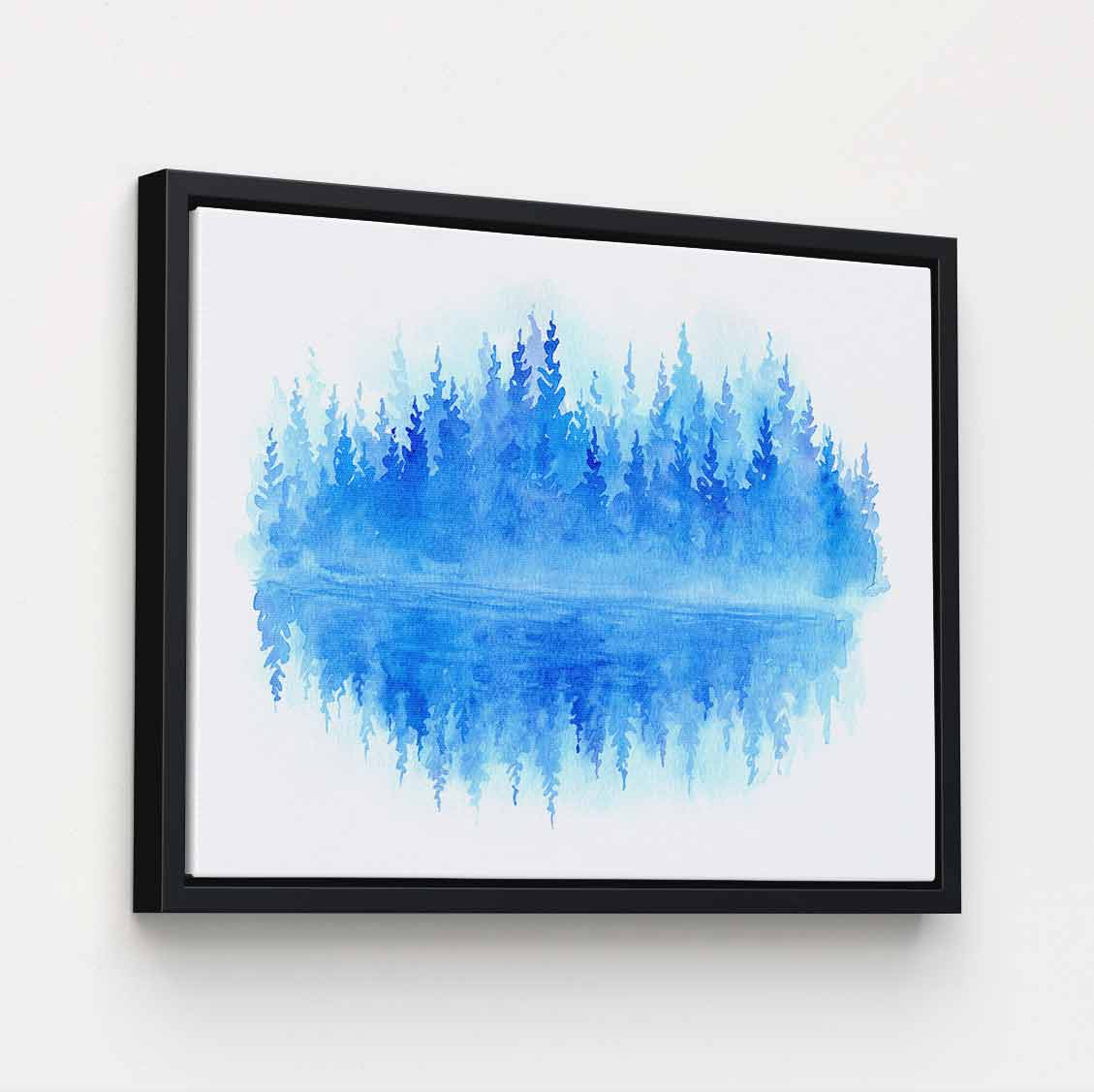 Woodlands Reflected - Canvas Print by Caleb Sinchok | Art Bloom Canvas Art