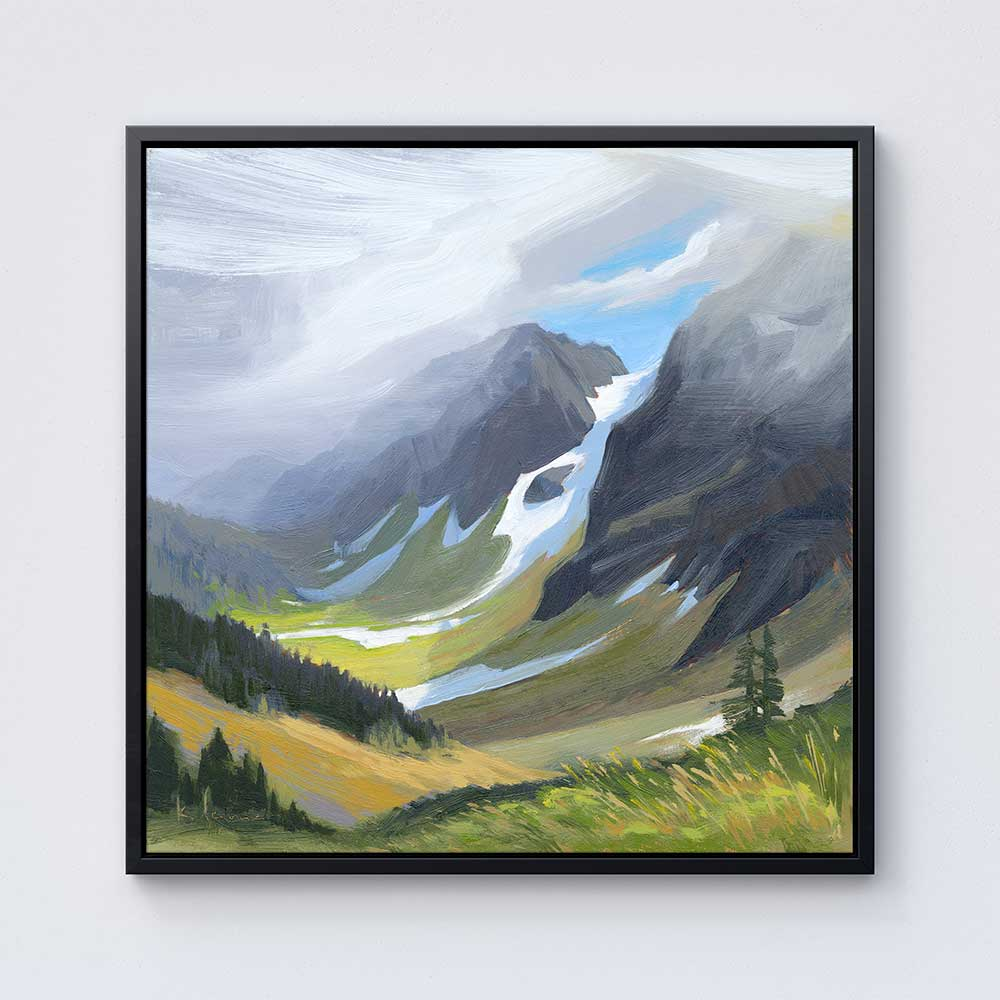 Cascade Pass - Canvas Print by Khara Ledonne | Art Bloom Canvas Art