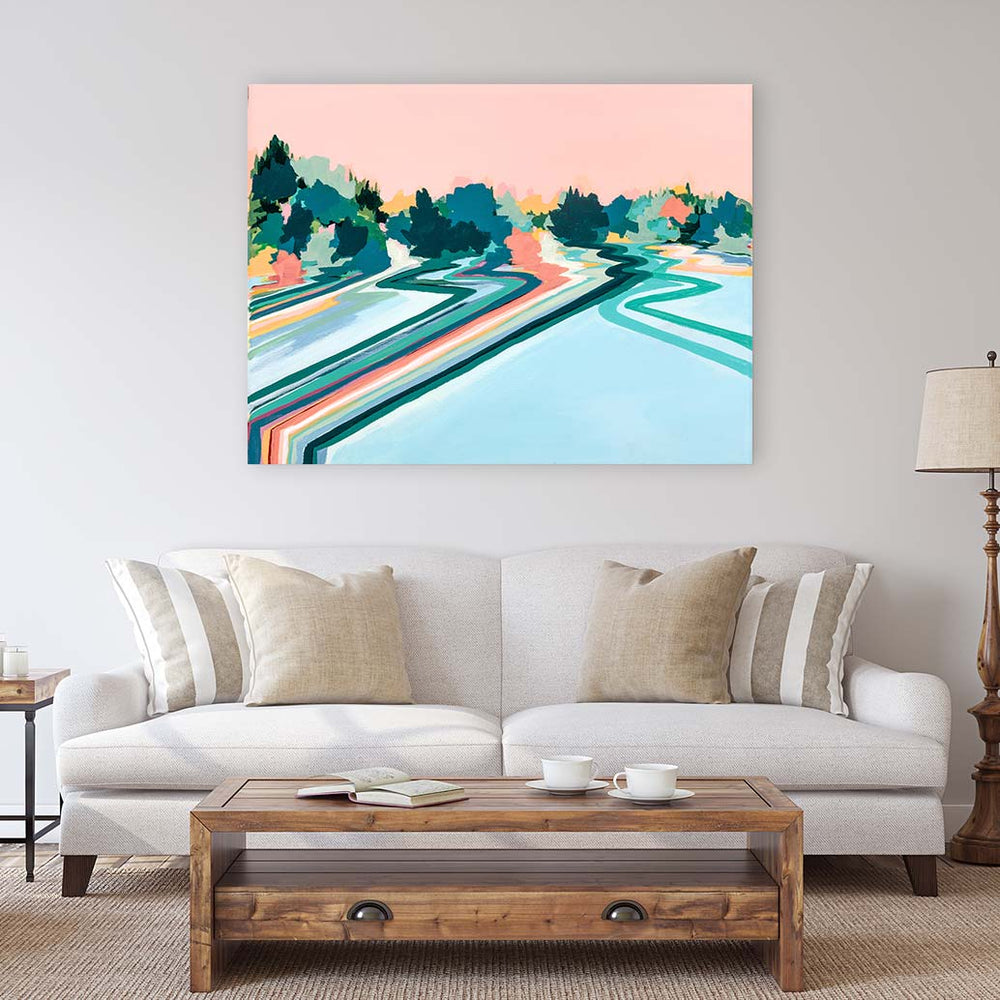 Color Reflections Canvas Art by Mallery Jane | Art Bloom