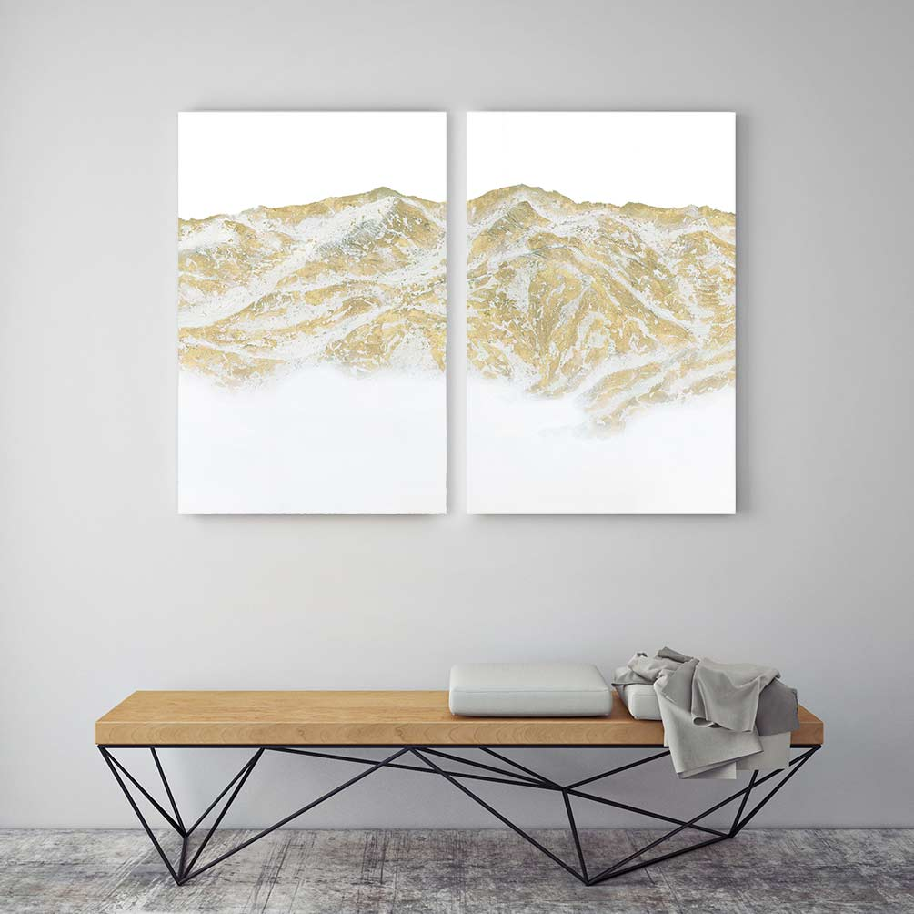 Constance - 2-Piece Canvas Print by Emily Magone | Art Bloom Canvas Art