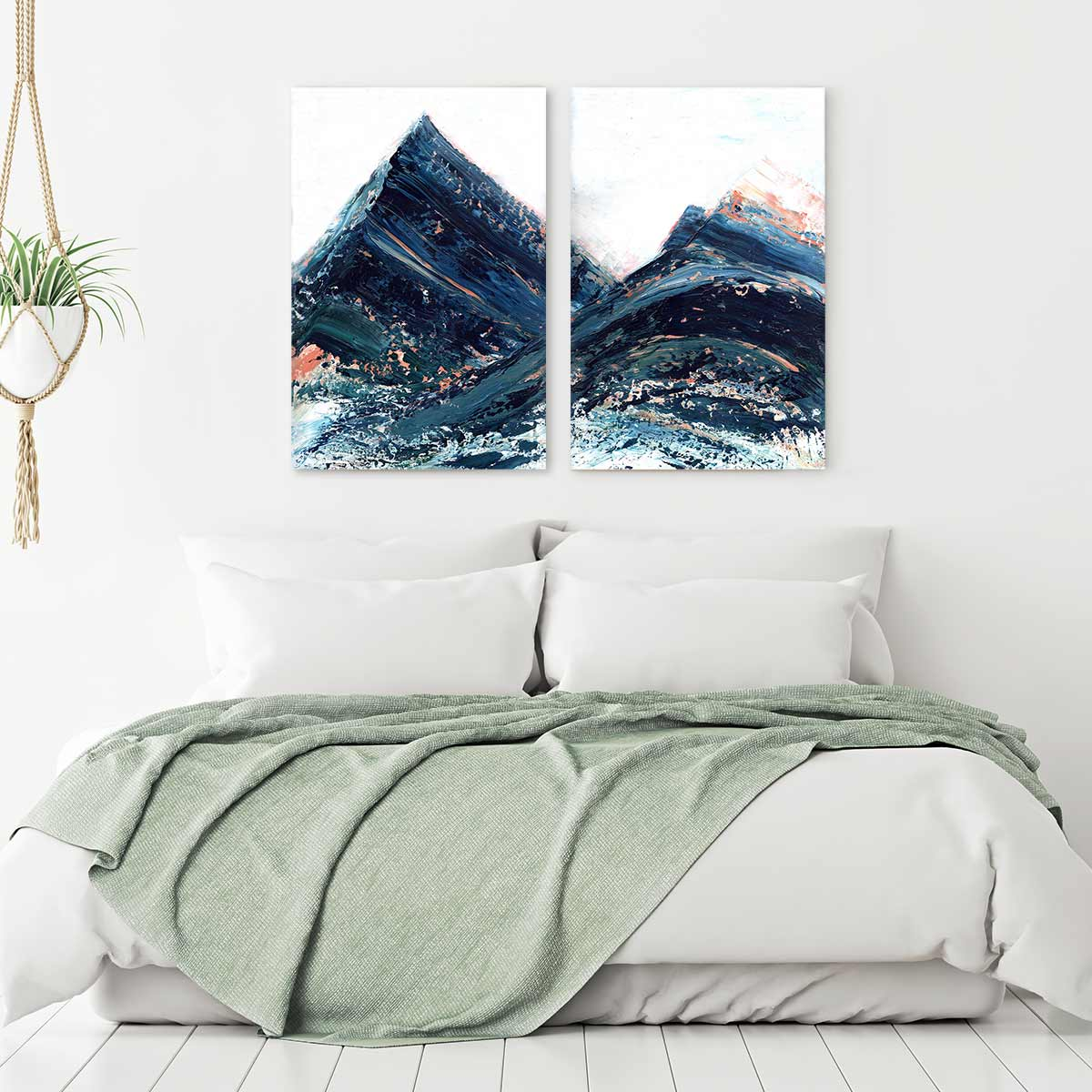 Copper Hills Canvas Art by Melissa Critchlow | Art Bloom