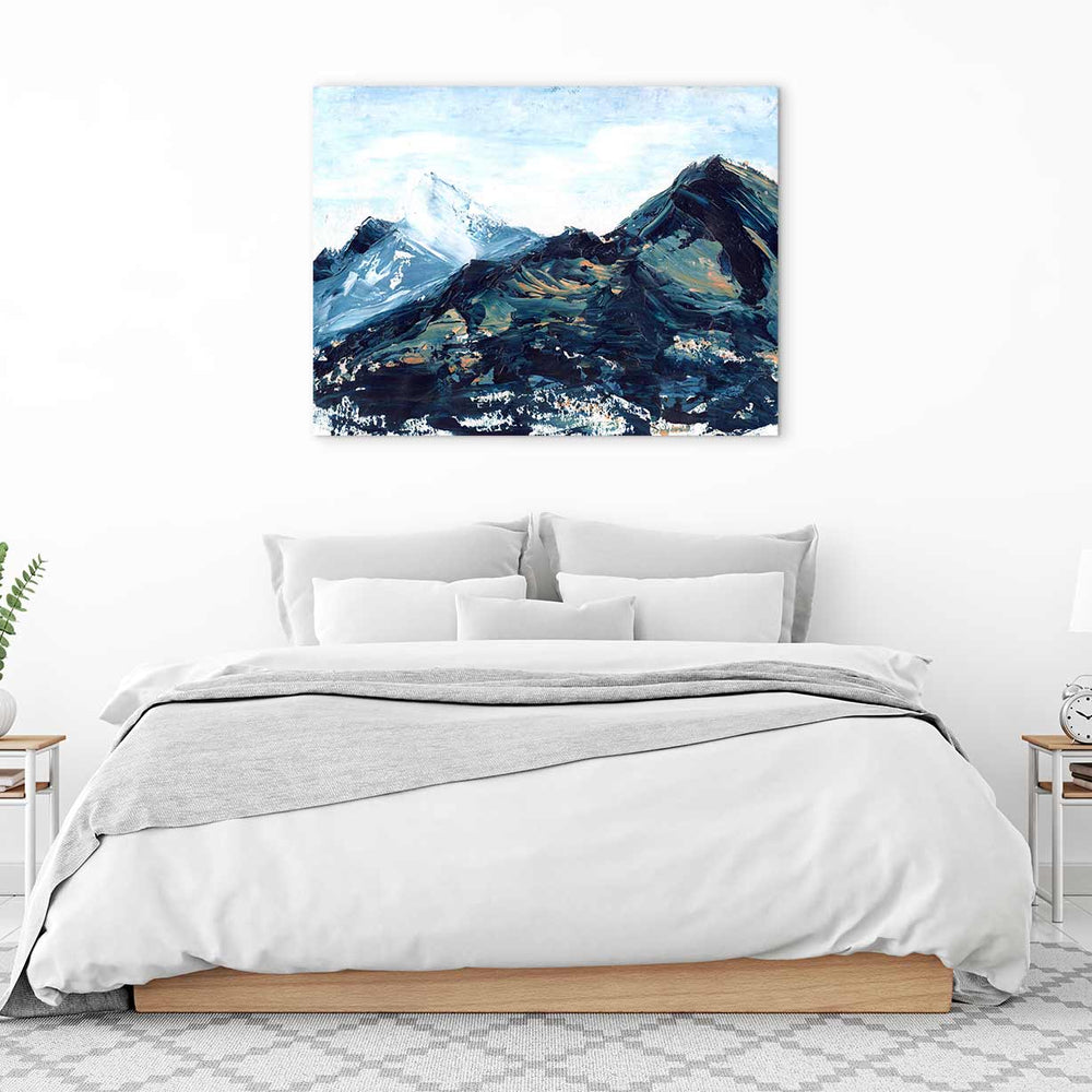 Copper Hills III Canvas Art by Melissa Critchlow | Art Bloom