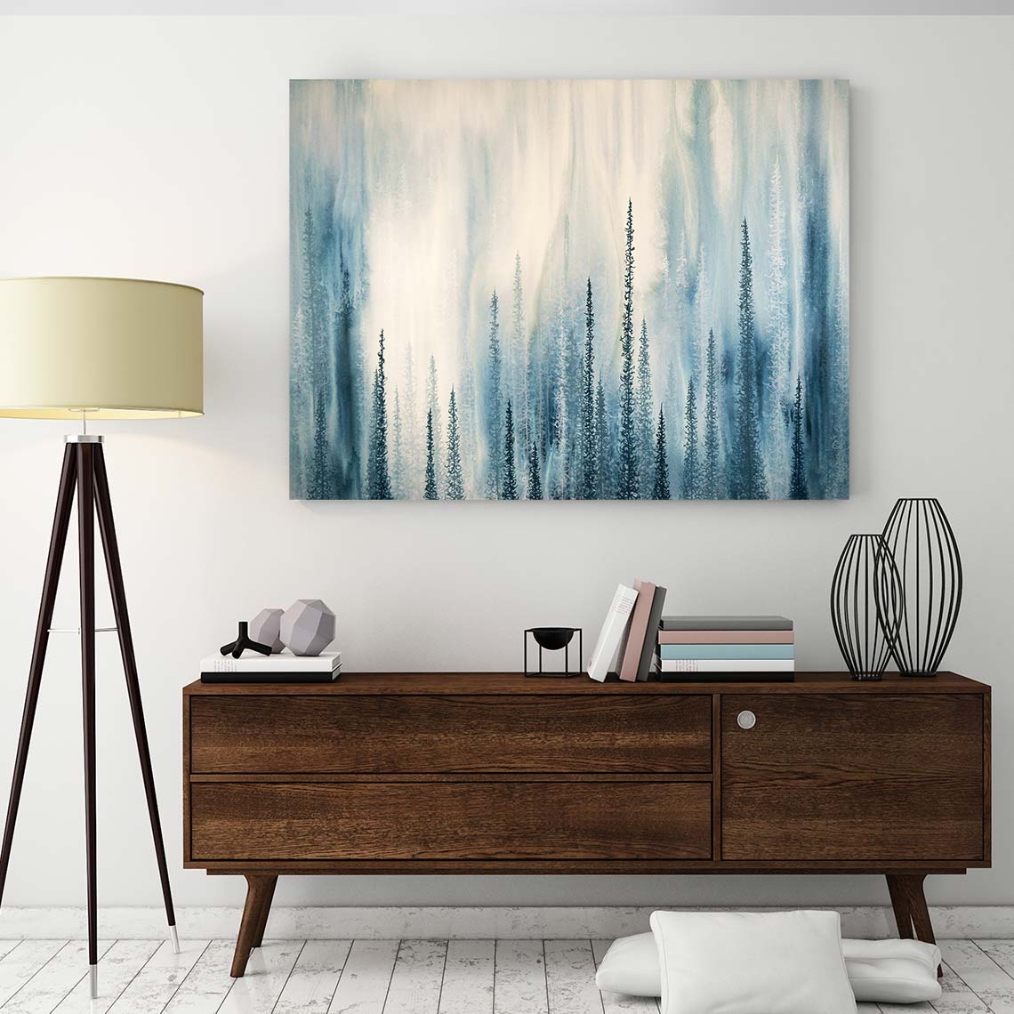 Deep Canvas Art by Emily Magone | Art Bloom