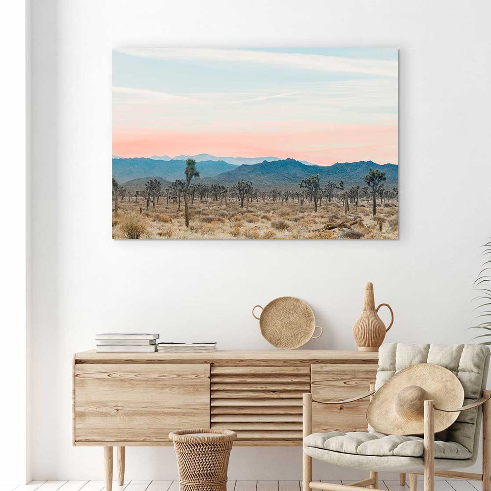 Desert Sunrise - Canvas Print by Nate Taylor | Art Bloom Canvas Art