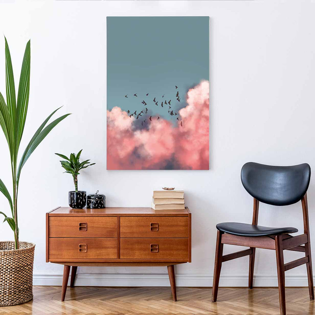 Doves - Canvas Print by Dan Hobday | Art Bloom Canvas Art