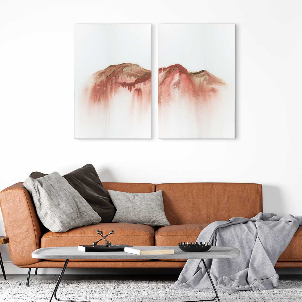 Ease - 2-Piece Canvas Print by Emily Magone | Art Bloom Canvas Art