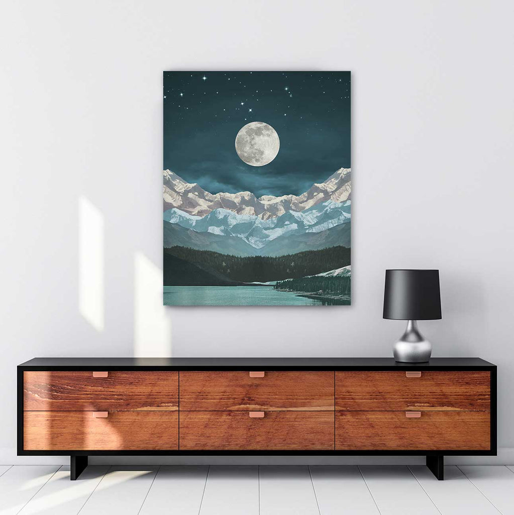 Elevations Canvas Art by Leaf and Petal Design | Art Bloom