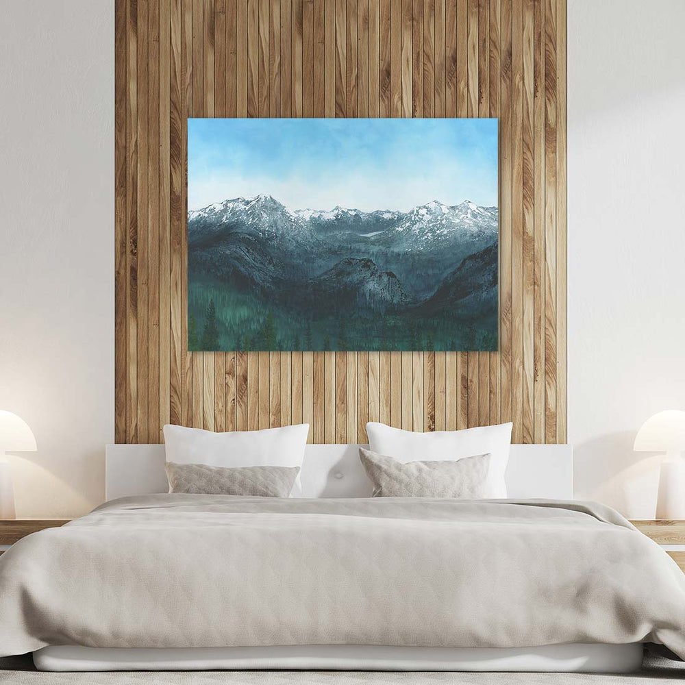Banff Canvas Art by Emily Magone | Art Bloom