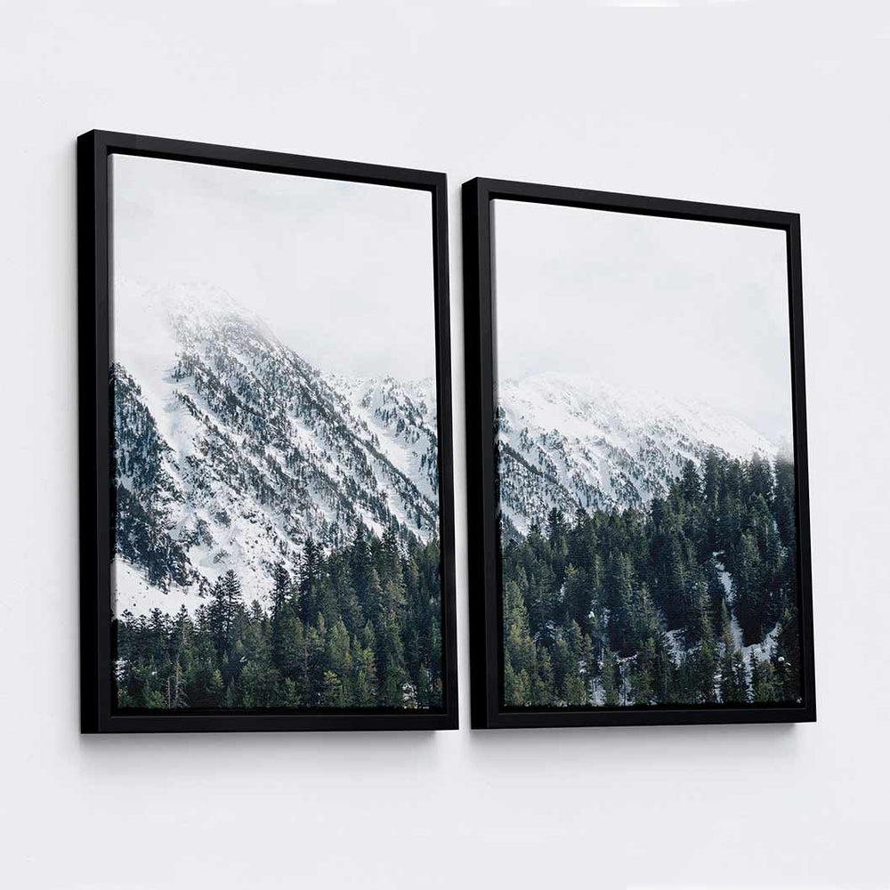 Evergreen - 2-Piece Canvas Print by Fernando Puente | Art Bloom Canvas Art