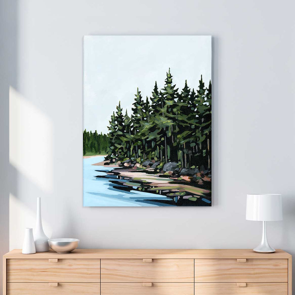Forest Edge - Canvas Print by Mallery Jane | Art Bloom Canvas Art