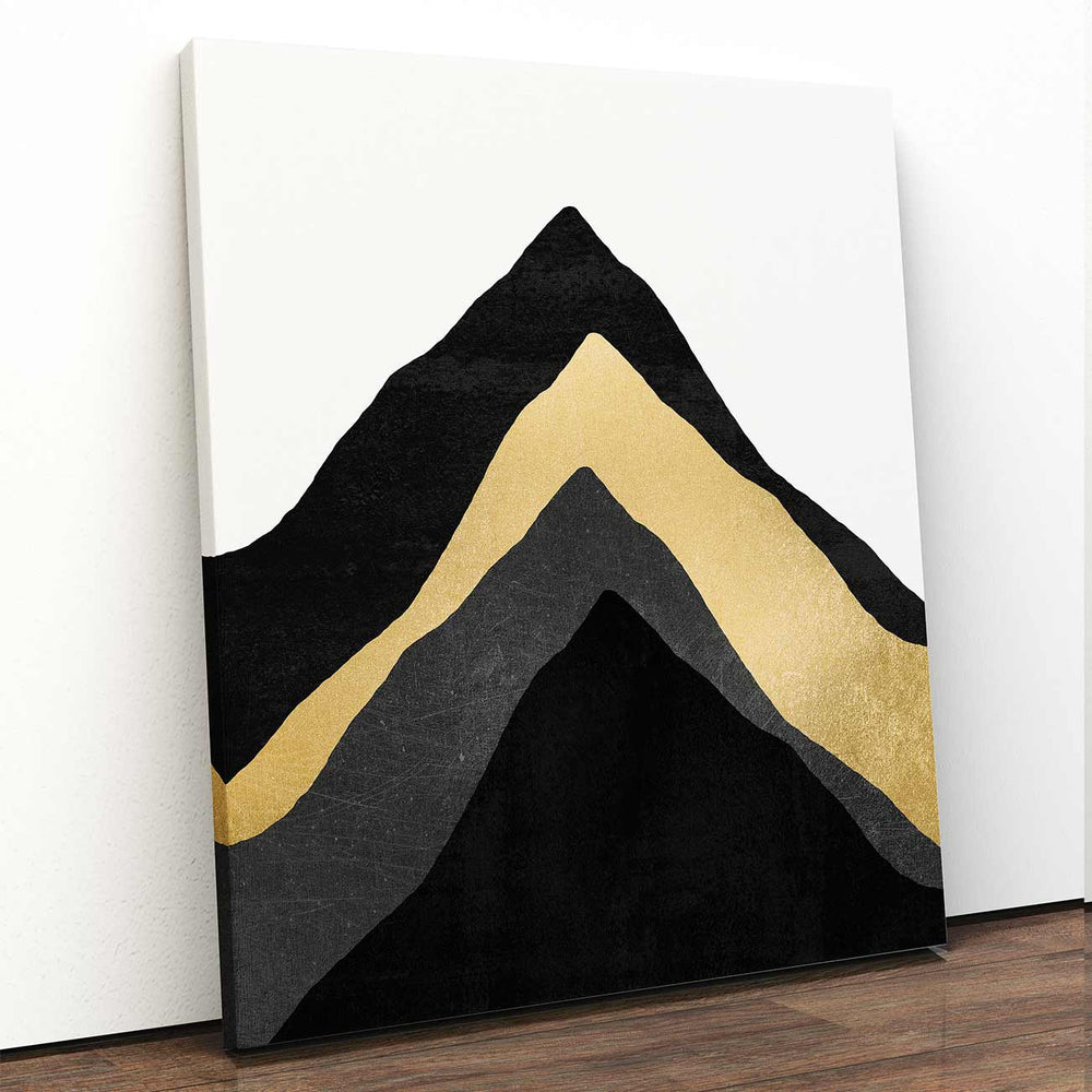 Four Mountains Canvas Art by Elisabeth Fredriksson | Art Bloom