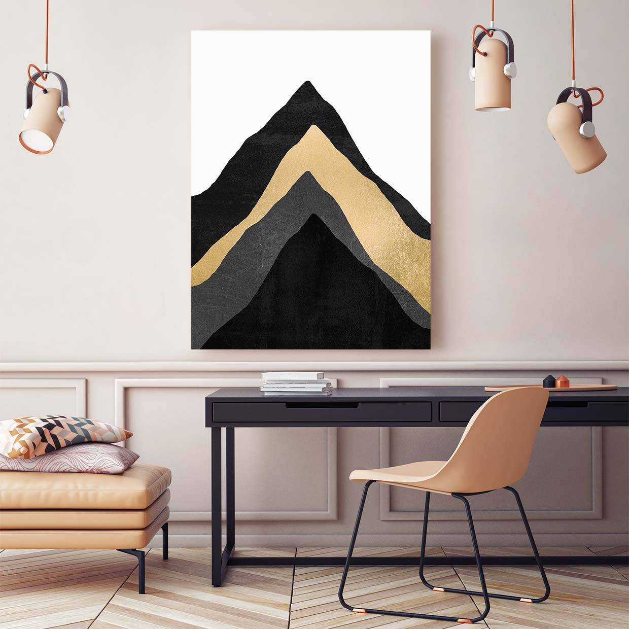 Four Mountains - Canvas Print by Elisabeth Fredriksson | Art Bloom Canvas Art