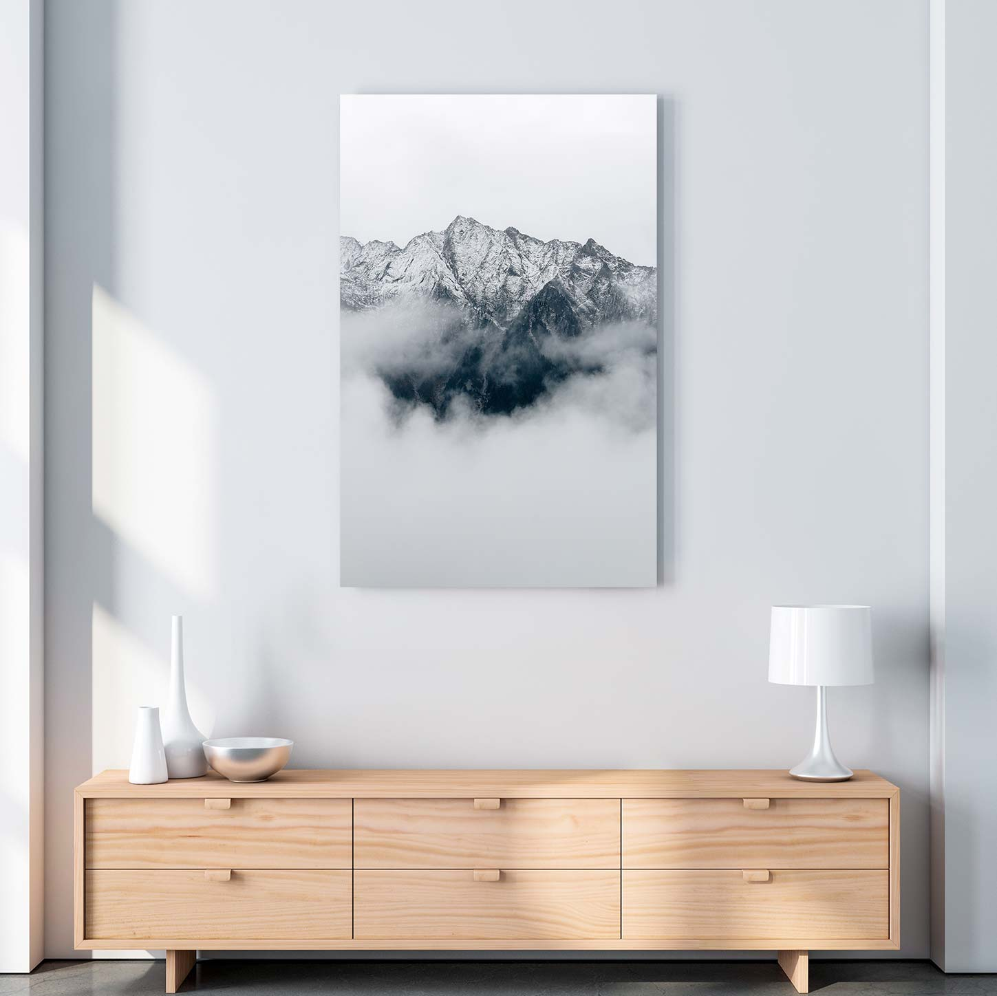 From the Clouds Canvas Art by Eberhard Grossgasteiger | Art Bloom