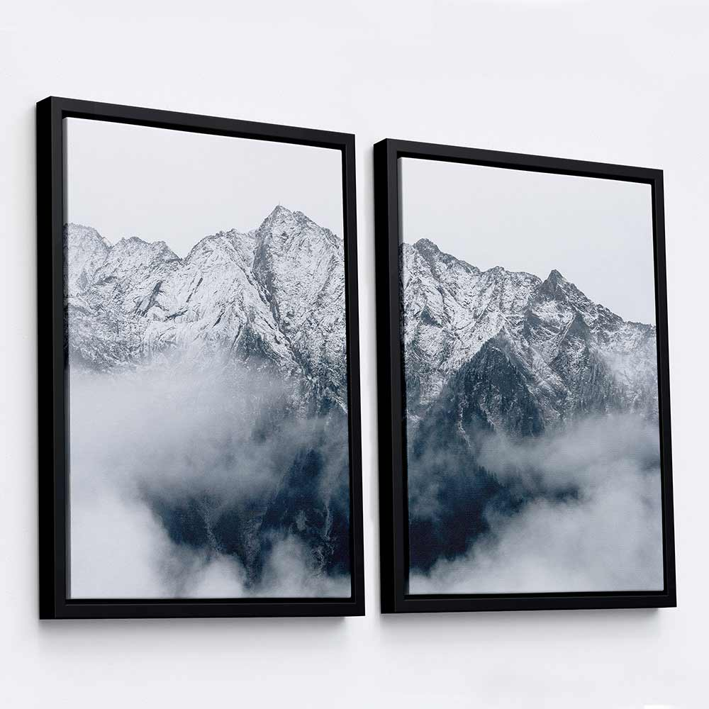From the Clouds II - 2-Piece Canvas Print by Eberhard Grossgasteiger | Art Bloom Canvas Art